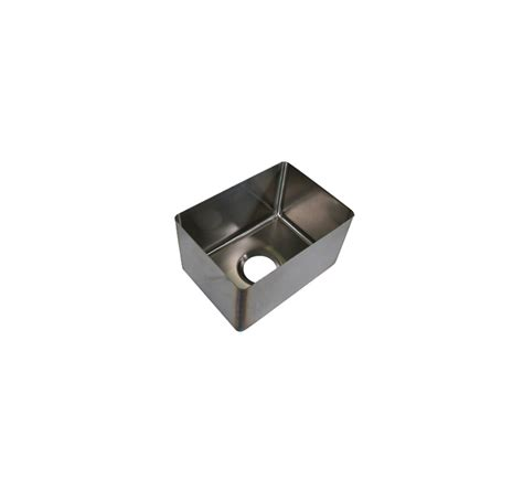 weld in stainless steel sinks bk resources bkfb 1115 11 16 11 quot x 15 quot x 11 quot one