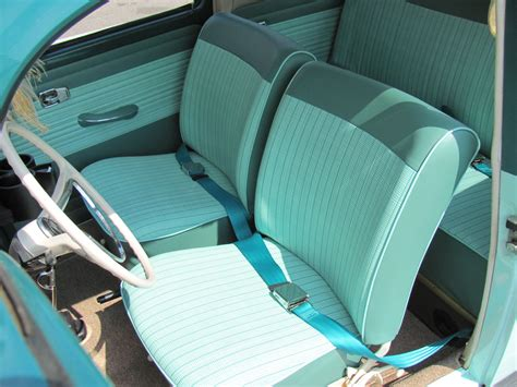 volkswagen beetle 1960 interior 1965 vw bug seat covers vw seat pads jbugs