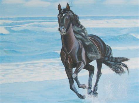 imagenes de paisajes y caballos im 225 genes arte pinturas paisajes con caballos