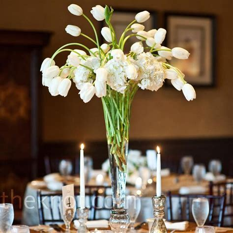 Tall Tulip Centerpieces   Flowers   Tulip wedding, Wedding