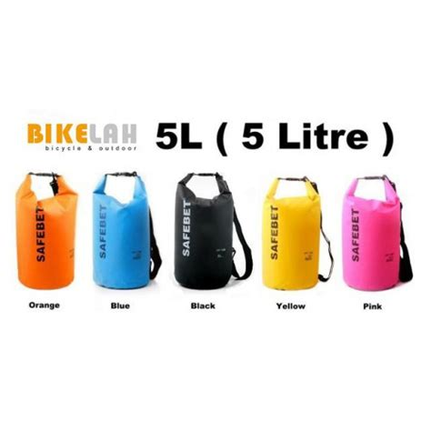 Project Safebet Waterproof Bag 20 L safebet waterproof bag 5 litres rm65 90 bicycle equipment accessories penang malaysia