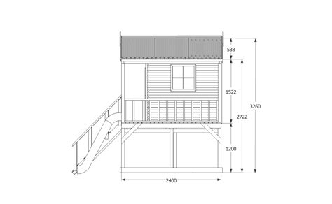 Plans For A Cubby House Cubby House Plan 1 Cubbykraft Cubbykraft
