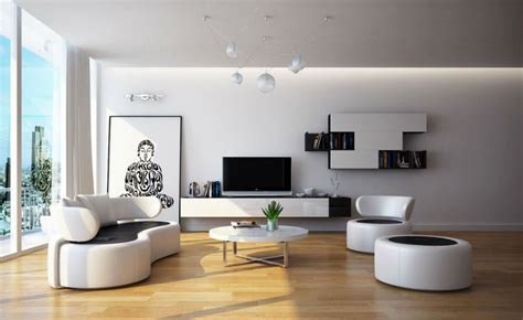 Black And White Chair And Ottoman Design Ideas Living Room Inspiration Modern Sofas To In 2016