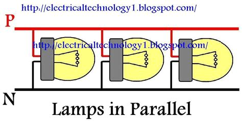 how to wire lights in parallel electrical technology