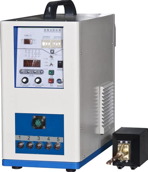 6kw single phase ultra high frequency induction heating equipment for metal pipe