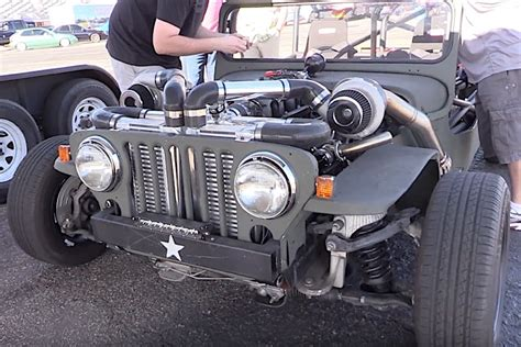 willys jeep lsx video chris wadding s 10 second jeep is a quot death trap quot