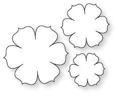 1000 ideas about flower template on pinterest paper