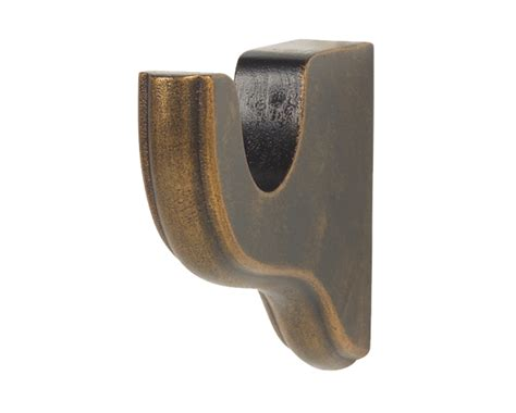 wood drapery brackets gould bracket 3 inch clearance for 1 3 8 inch wood drapery