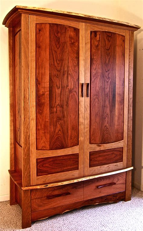 wardrobe cabinet plans woodwork free armoire furniture plans pdf plans