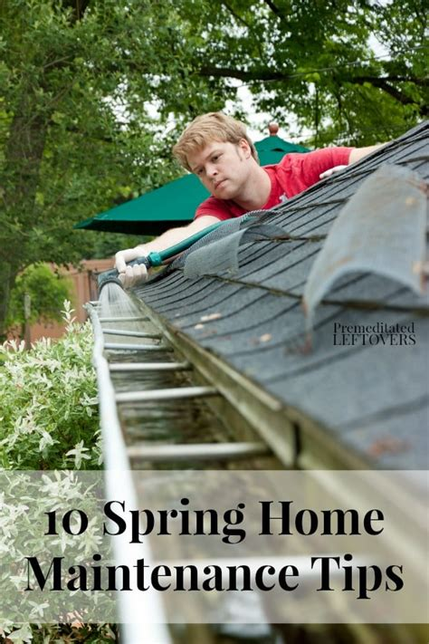spring home tips 10 spring home maintenance tips
