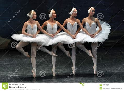 dance of the swans little swans dance editorial stock image image 30770024