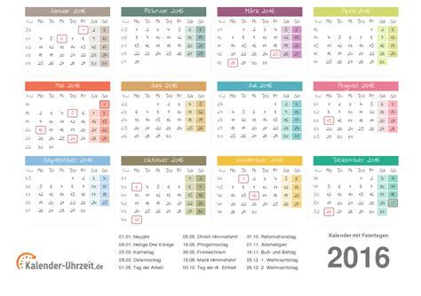 Ausdruck Kalender 2016 Kalender 2016 Zum Ausdrucken Kostenlos