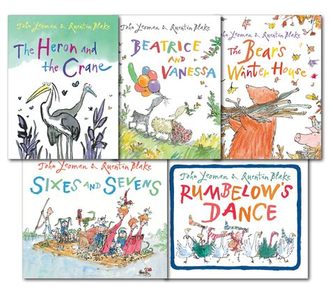 libro quentin blake collection 10 quentin blake collection red fox picture 5 books set new the heron and the crane ebay