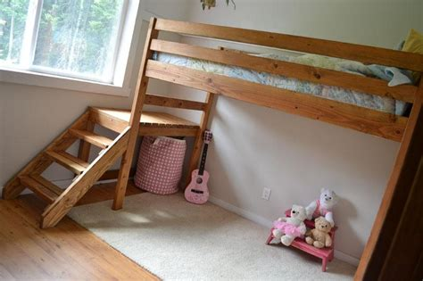 Loft Bed Diy Diy Loft Bed Plans With Stairs Pdf Plans Carport Enclosure Kit 187 Woodplans Woodplans