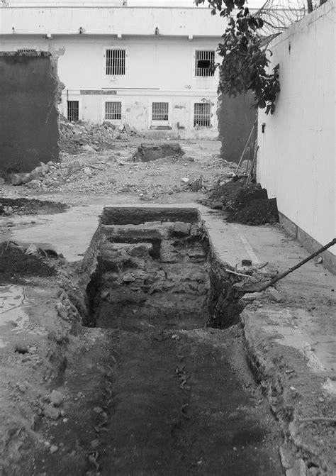 Archéologie de l'ancienne prison Juliette-Dodu à Saint