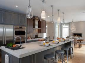 contemporary pendant lights for kitchen island photos hgtv