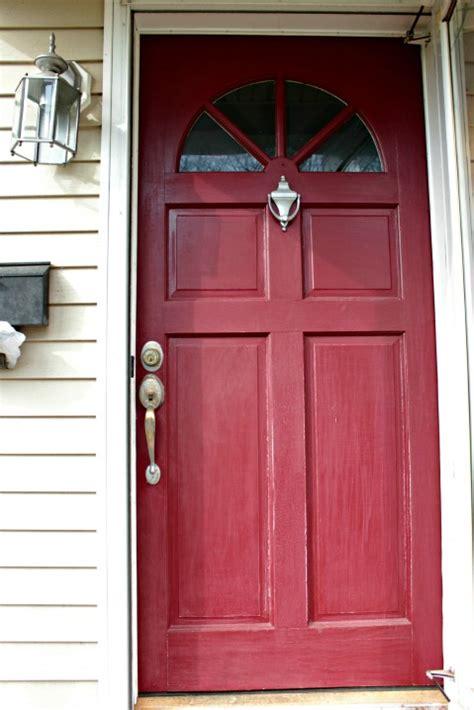 how to paint the front door paint the front door