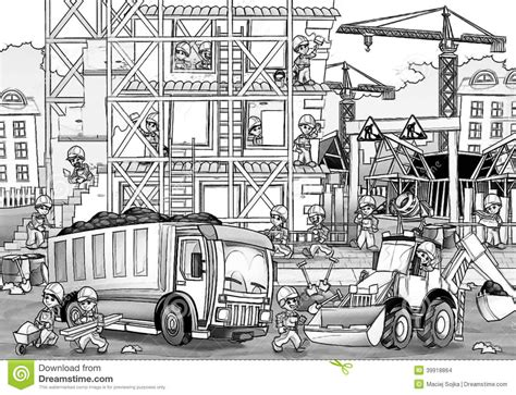 free coloring pages of construction site