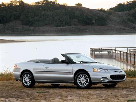 04 chrysler sebring convertible chrysler sebring convertible 2001 04 pictures 2048x1536