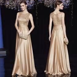 cheap satin gold royal blue evening dresses long plus size