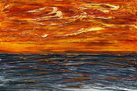Landscape Into Kenneth Clark Apocalypse Painting By Kenneth Clarke