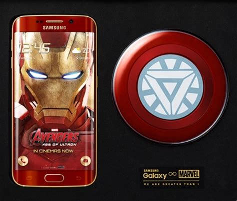 Samsung S6 Ironman Limited Edition samsung unleashes galaxy s6 edge iron limited edition