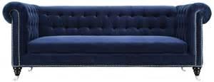 navy blue velvet sofa hanny navy blue velvet sofa s99 tov furniture