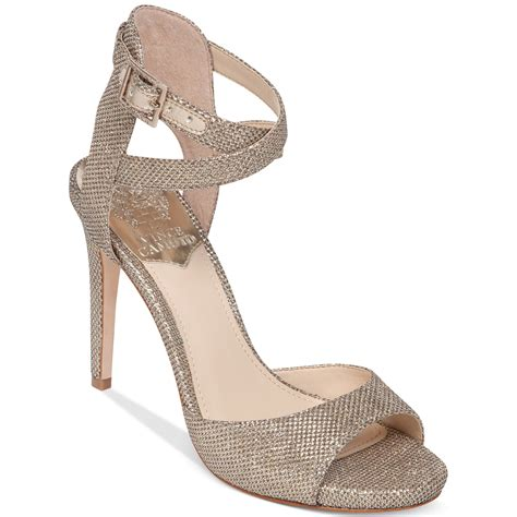 gold high heel sandals evening vince camuto faunora high heel evening sandals in beige