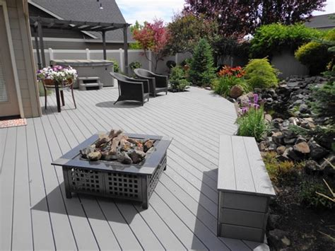 backyard clambake pit backyard clambake pit trex decking prices advantages trex