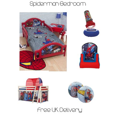 spiderman bedroom stuff official spiderman duvet covers bedding bedroom accessories free p p ebay