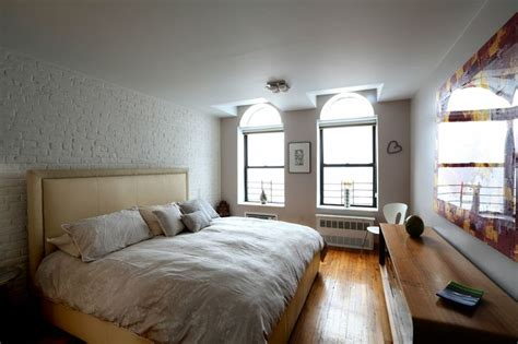 white bedroom walls painting brick walls white an increasingly popular trend