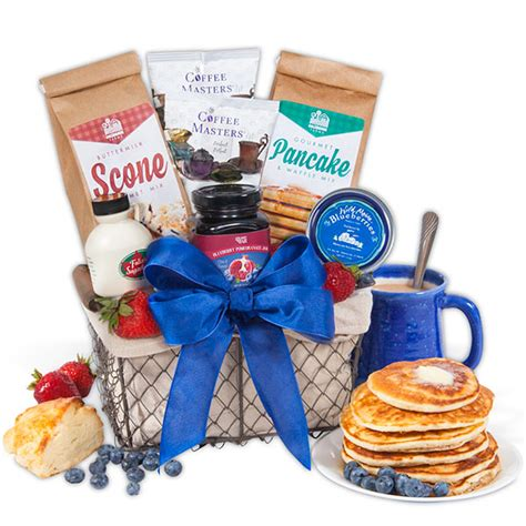 christmas breakfast gift basket by gourmetgiftbaskets com