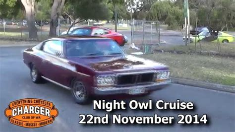 wa charger club charger club of wa owl cruise november 2014