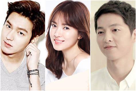 film lee min ho dan song hye kyo song joong ki loses song hye kyo to lee min ho fans