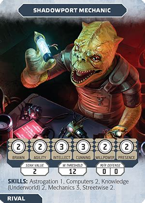 Wars Ffg Npc Card Template by Flight News Manage Your Npcs With Three