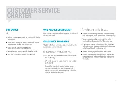 customer care charter template charter customer service template jose mulinohouse co