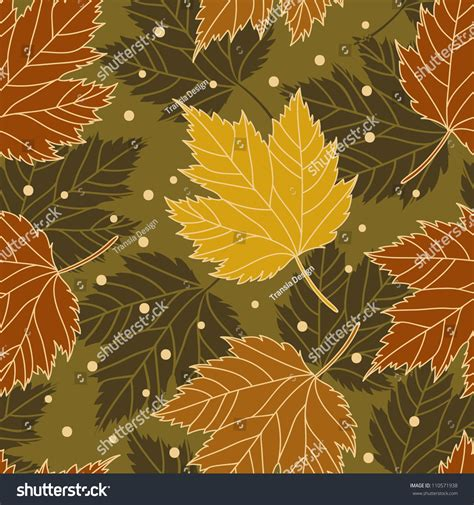 leaf pattern vintage vintage leaf pattern stock vector illustration 110571938