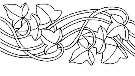 dibujos cenefas dibujos de cenefas de flores para pintar