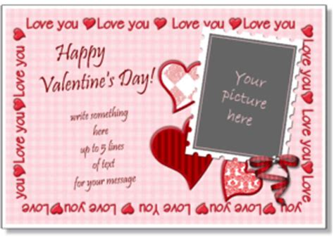 S Day Card For Fiance Free Publisher Template by S Day Card