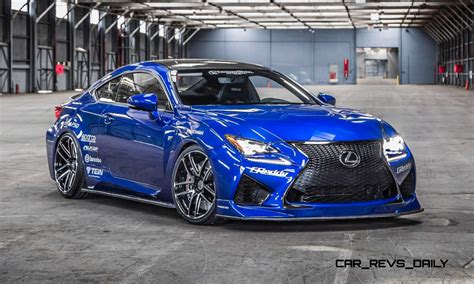 2015 lexus rc f destroys the 2014 is f on track torque news best of sema 2015 lexus rc f by gordon ting in 27 high