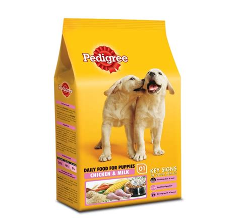 dogs and milk pedigree food puppy chicken and milk 10 kg puppywala