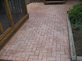 Old Concrete Patio Ideas by Stamped Concrete Patio Ideas Concrete Patio Ideas For