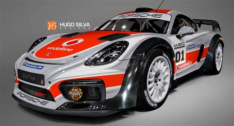porsche wrc wouldn t it be awesome if porsche built this cayman gt4