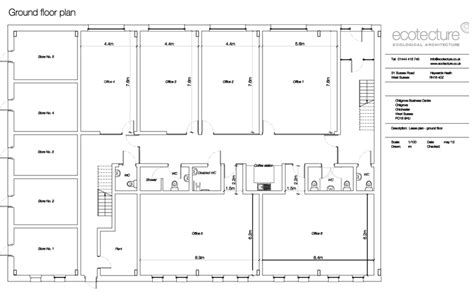 Floor Plan Of A Business | chilgrove business centre floor plan