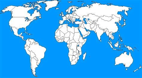 usa in world outline map i need a blank map of the world with national borders