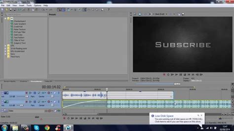 outro template sony vegas pro 12 13 youtube