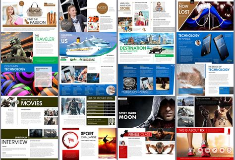 Hoera Magazine Powerpoint Template Presentation Templates On Creative Market Magazine Powerpoint Template