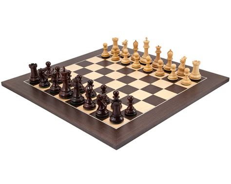 Luxury Chess Set | sandringham rosewood and wenge luxury chess set rcpb265