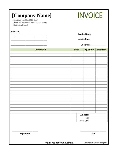 transportation invoice template 28 images freight