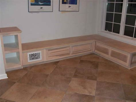Building A Banquette by How To Repair How To Build Wooden Banquette How To